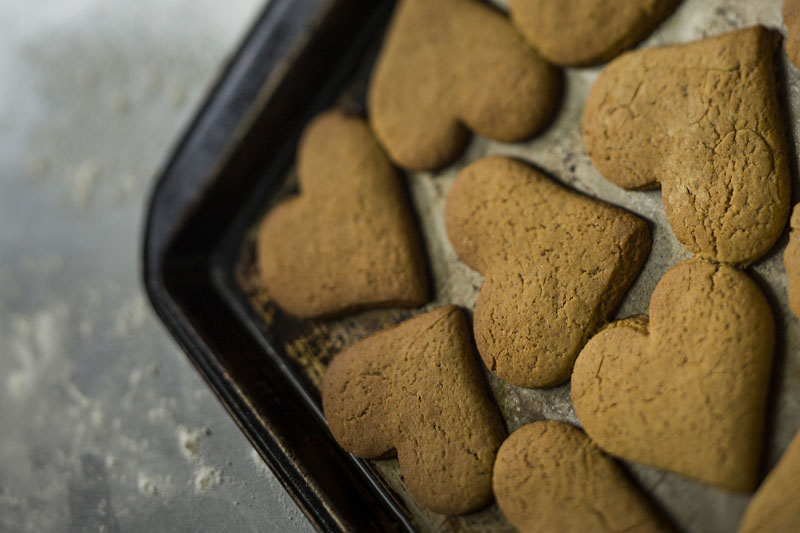 Ginger Biscuits baked