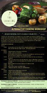 Alternative Cooking Workshop 4-6 November 2016