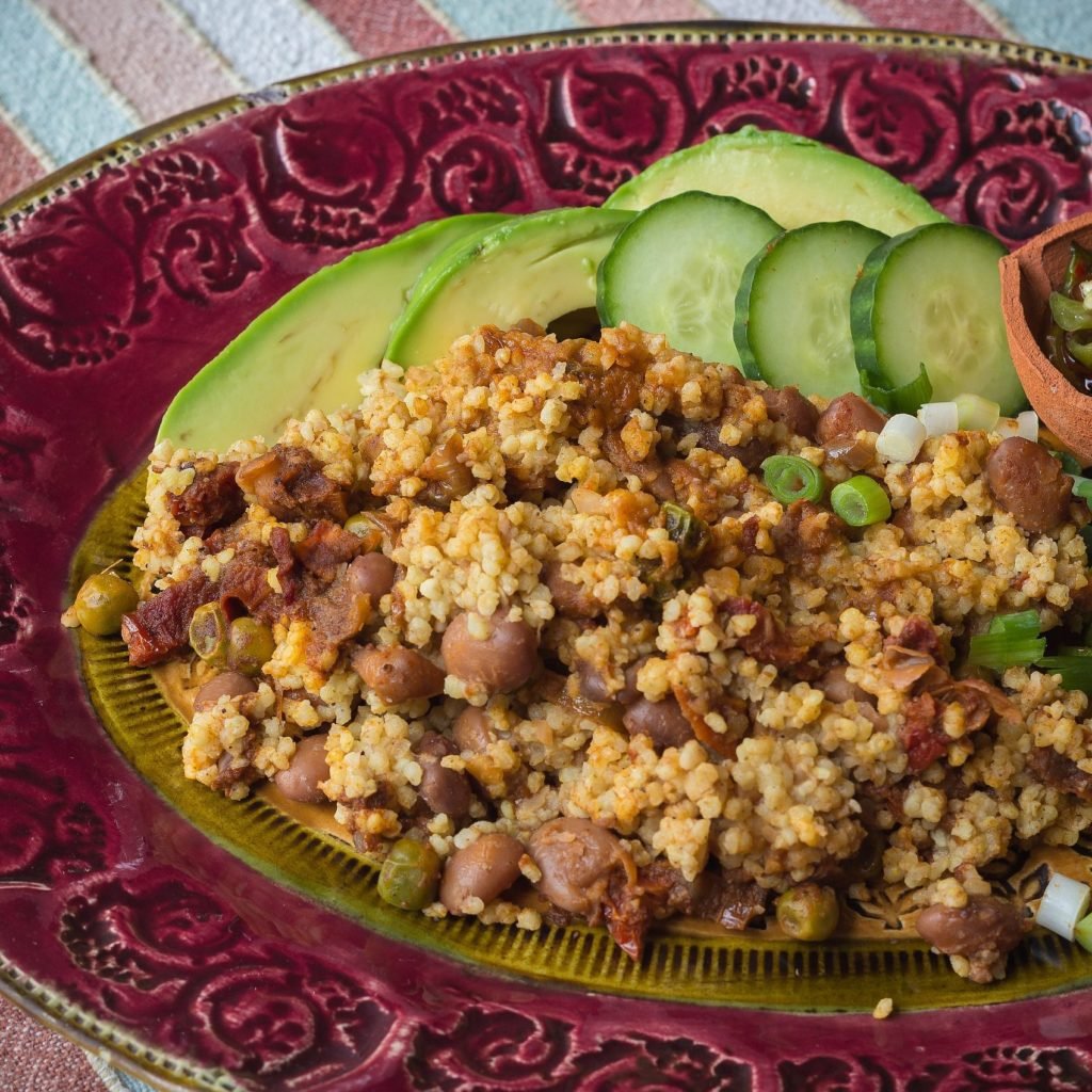 Bean and Millet Stew-sq