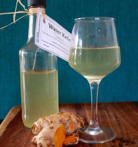 Water Kefir – Turmeric